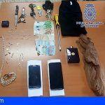 Tres detenidos en La Laguna por 2 delitos de robo en domicilios, 1 robo con violencia y 1 delito de hurto