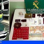 """Operación Rastrillo"" Dos detenidos por tráfico de drogas en Puerto Naos, La Palma"