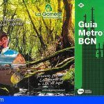 La Gomera, imagen de los mapas del metro de Madrid y Barcelona