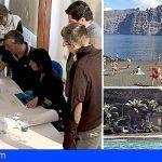 Informan a los empresarios el inicio de las obras de recuperación de la playa de Los Guíos