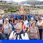 La Virgen de la Encarnación ya está preparada para la Rogativa de este domingo en Adeje