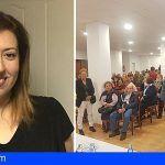 Sandra Rodríguez, elegida candidata de CC a la Alcaldía del Puerto de la Cruz para las elecciones de 2019