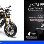 Ducati Canarias presenta sus novedades en la IV LPA Motown