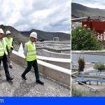 Implantan el secado solar de fangos en la depuradora Adeje-Arona