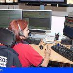 Rescatan a 2 personas accidentadas en Arona y San Miguel este fin de semana