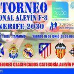 EL III Torneo Nacional Alevín de Fútbol-8 Tenerife 2030 se celebra este sábado en Tamaimo