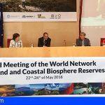 La Gomera participa en el VIII Congreso Mundial de Reservas de la Biosfera Islas y Zonas Costeras