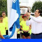 Arona suma su tercera bandera azul y se convierte en el municipio con mayor número de distinciones de la provincia