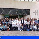 El HUC da la bienvenida a 76 nuevos residentes de formación sanitaria especializada
