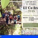 El Campamento de Verano de El Cedro en La Gomera abre el plazo de preinscripción