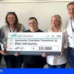 La Fundación CLC World colabora con la donación de 10.000 euros a Down Tenerife