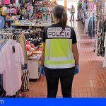 Detienen a diez personas por vender productos falsificados en San Bartolomé de Tirajana