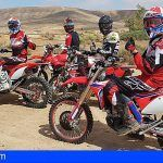 Segundo asalto del equipo Honda Canarias en el Enduro Isla de Fuerteventura