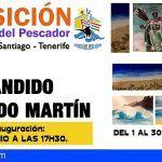 Cándido Delgado Martín expondrá sus obras en el Museo del Pescador de Puerto de Santiago