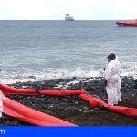 Segunda fase del simulacro de lucha contra la contaminación marina