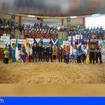 Los Campeonatos de Canarias en edad escolar de Lucha logran por primera vez la participación de todas las Islas
