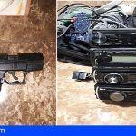 La Policía Nacional detiene al autor de varios robos, en interior de vehículos en Santa Cruz