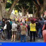 Manifiesto leído en la concentración por la defensa de las pensiones públicas en la La Laguna
