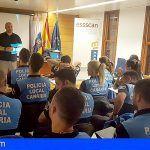 La ESSSCAN forma a policías locales en Soporte Vital Básico y el uso de desfibriladores DESA