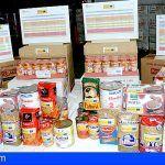 El Ayuntamiento de San Miguel distribuye los productos del Fondo Español de Garantía Agraria (FEGA)