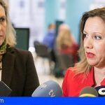 Rosa Dávila presenta el servicio de atención al contribuyente del Gobierno de Canarias, campaña 2017