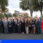 Santa Cruz da el nombre de una rotonda a la organización benéfica Rotary Club