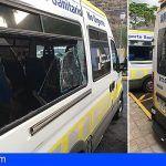 Más actos vandálicos en Transportes Sanitarios No Urgente, ahora en La Gomera
