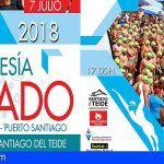 El 7 de julio se celebrará la XXIII edición de la Travesía a Nado de Santiago del Teide