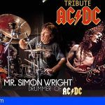 Simon Wright en el tributo a AC/DC que llega al Magma en Adeje