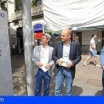 Instalan en Santa Cruz la nueva señalización turística peatonal