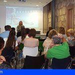 Buena acogida en San Miguel de la charla de trastornos de la alimentación