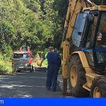 La Gomera inicia los trabajos de mejora de la carretera entre Juego de Bolas y La Laguna Grande