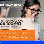 Cursos online gratuitos con diploma acreditativo para desempleados de las Islas Canarias