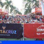 Dorada se suma a la celebración en Candelaria de los octavos de final del Mundial de Fútbol