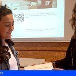 Una alumna tinerfeña finalista en el concurso internacional de debates en inglés