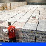 Cruz Roja distribuye 372.247 kilos de alimentos entre las personas más desfavorecidas de la provincia tinerfeña