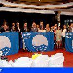 Arona obtiene la distinción en la categoría de educación ambiental en la entrega de las Banderas Azules