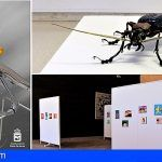 El escultor Edouard Martinet expone sus geniales insectos en Guía de Isora
