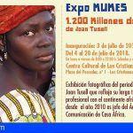 MUMES expone en Arona '1.200 millones de Áfricas' del periodista y fotógrafo Joan Tusell