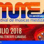 El Festival MUMES 2018 vuelve a Arona con Guinea Ecuatorial como protagonista