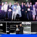 Ilustres personalidades recibieron en Arona los Premios Alan Turing Awards 2018