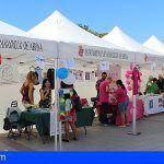 Granadilla. La II Feria de Salud 'Sensibilíza-t' reúne al movimiento asociativo y al sector sanitario en San Isidro