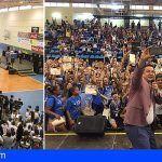 #Aronadeportes reconoce a sus deportistas en edad escolar en la I Gala del Deporte Infantil