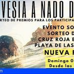 """Cruz Roja organiza este domingo la """"II Travesía a Nado de Oro"""" en la Playa de Las Teresitas"""