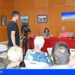 Santiago del Teide. Se inauguró la exposición de pintura del artista Cándido Delgado