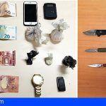 Santa Cruz. Detenido un hombre por tráfico de drogas e intervención de drogas y armas prohibidas