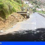 La Gomera. Comienza las obras de mejora de la GM-1 en el tramo de acceso a la Playa de Vallehermoso