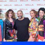 Tenerife. Juan Castañeda fascina en la Gala Internacional de Wella con su innovadora fusión entre moda y peluquería