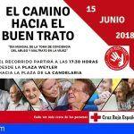 Una Marcha en Tenerife para reivindicar por el buen trato hacia las personas mayores