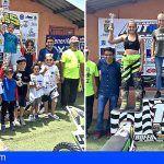 San Miguel de Abona acogió ayer el campeonato provincial de Motocross de Tenerife